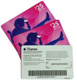 US-Dollar iTunes Guthaben