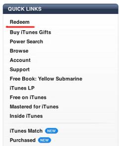 iTunes USA Guthanben