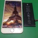 【修理実績No.208】iPhone6のバッテリー交換