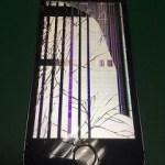 【修理実績No.215】iPhone5Sのフロントパネル液晶割れ