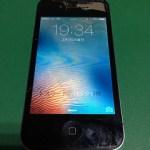 【修理実績No.261】iPhone4Sのフロントパネルガラス割れ