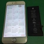 【修理実績No.274】iPhone6のバッテリー交換
