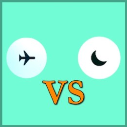 iPhoneのおやすみモードと機内モードの違い!一覧表まとめ