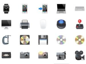iPhone、絵文字の意味(名前)一覧【物】