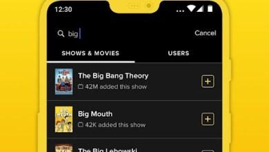 تطبيق TV Time