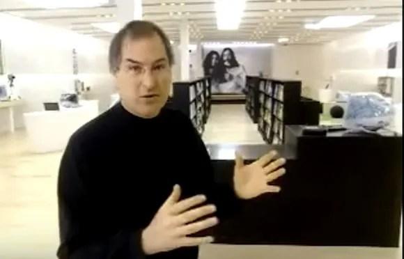 スティーブ・ジョブズ氏 Apple Store