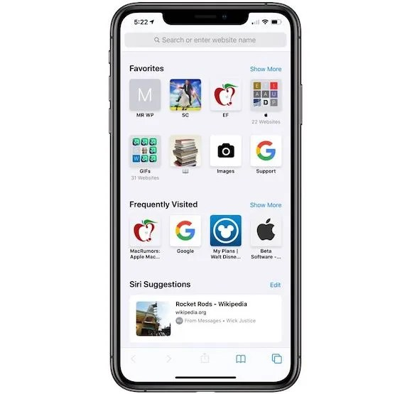 iOS13 Safari MacRumors