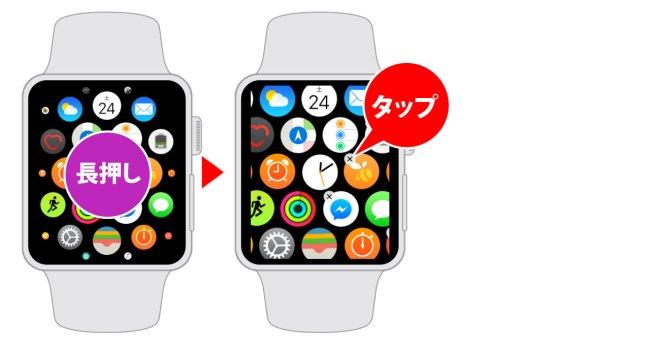Apple Watchでアプリをアンインストールする方法