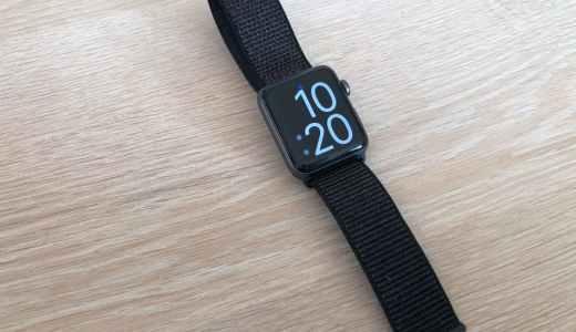 【1年レビュー】Apple Watchのスポーツループは使う人とシーンを選ぶ
