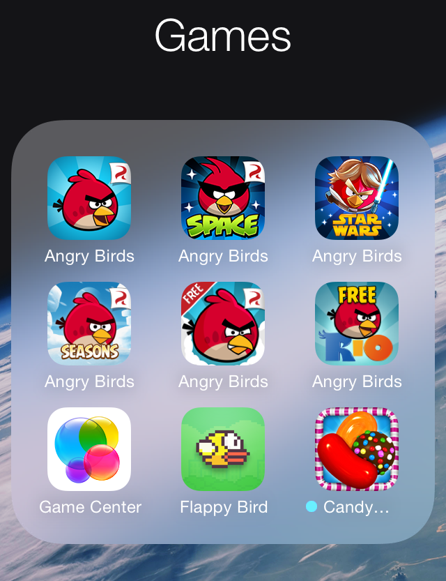 iPhone Apps   Backup and transfer iPhone apps  games  and documents     iphone games folder on home screen