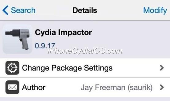 Cydia Impactor - Restore - Remove Jailbreak iOS 8