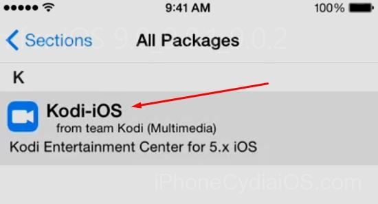 Install Kodi on iOS 9 with Jailbreak Cydia_step 5