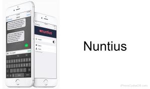 Nuntius iOS 9 Cydia Tweak – SMS / iMessage tweaking