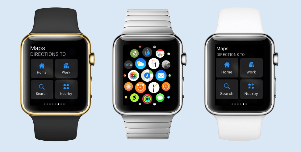 WatchOS 2.2 Maps Application