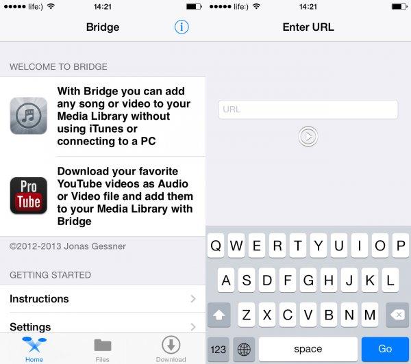 Bridge на iPhone