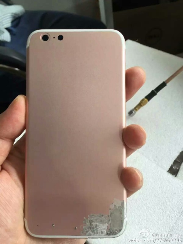 "Leaked Pictures of the iPhone 7 - ""Unfinished"" Rose Gold Model Leaked"