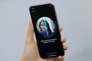 Touch ID Out, Face ID In