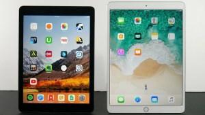 iPad 2018 vs iPad Pro - Design