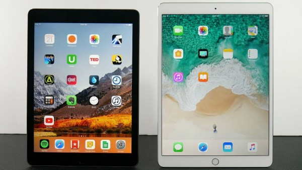 iPad 2018 vs iPad Pro - Design