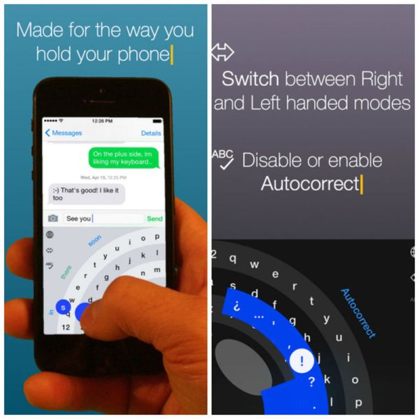 Best iPhone Keyboard Apps - Thumbly Keyboard