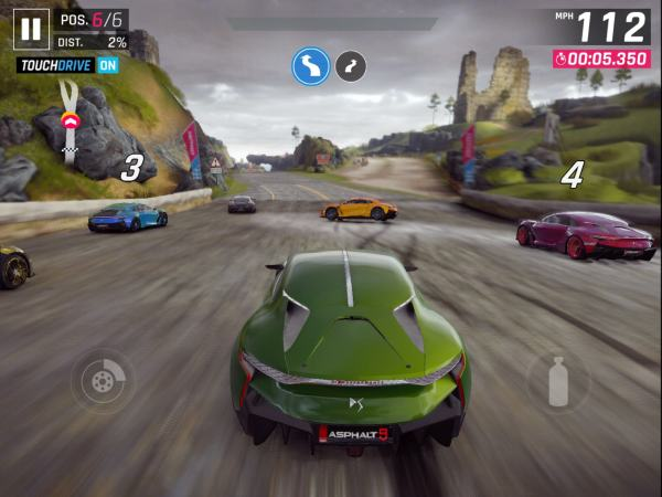 #1 in Our Best iOS Racing Games List – Asphalt 9 Legends