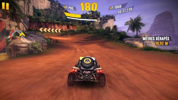 #2 in Our Best iOS Racing Games List – Asphalt Xtreme