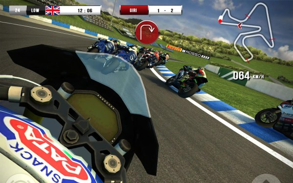 #8 in Our Best iOS Racing Games List – SBK 16