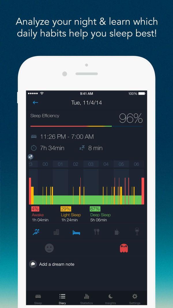 4. Sleep Better – Sleep Monitor App List