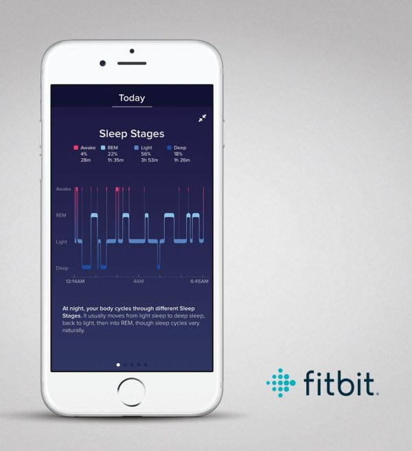 7. Fitbit – Sleep Monitor App List