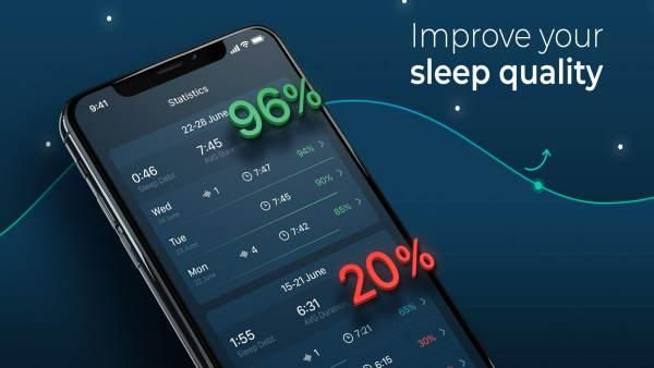 8. Sleepzy – Sleep Monitor App List