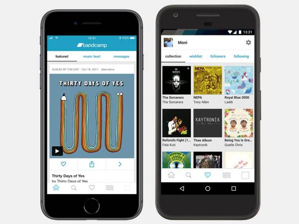Best Free Apps for iPhone - Bandcamp