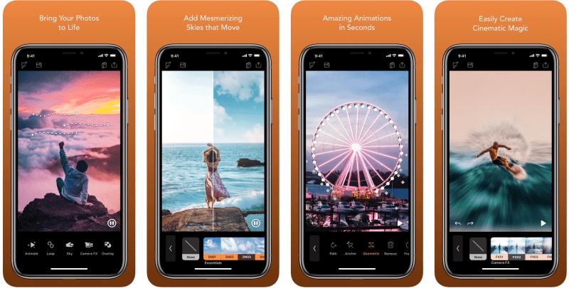 Best Free Apps for iPhone - Enlight Pixaloop