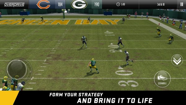 Madden NFL Overdrive Football - List of Top iOS Games