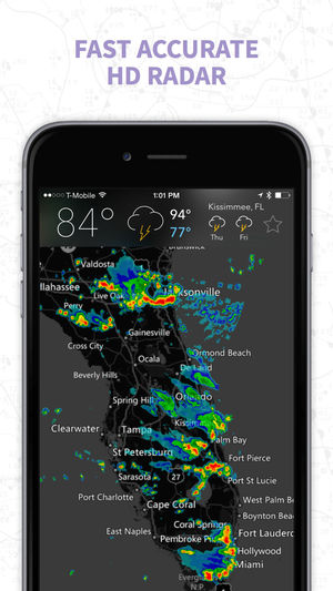 7. MyRadar NOAA Weather Radar – The Best Weather App in Terms of Detailed Forecast