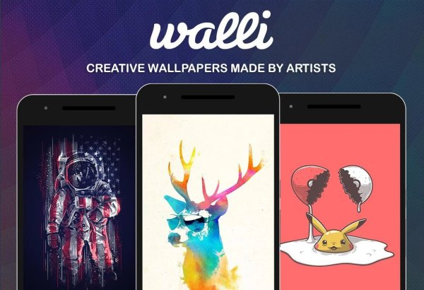 6. Walli – The Best iPhone Wallpaper App for Getting Artistic Images