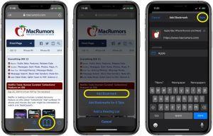 24. Save All Open Tabs as Bookmark on Safari