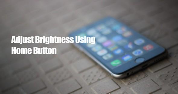 خفض إضاءة جهازك من زر الشاشة