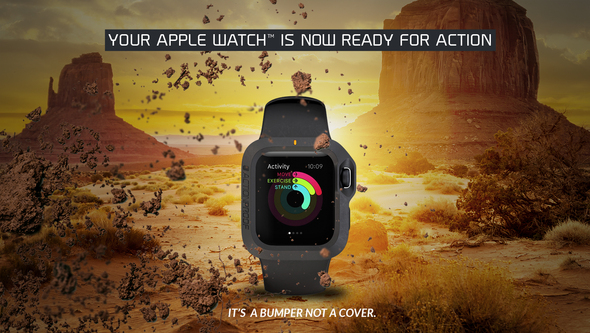 the bumper apple watch cover