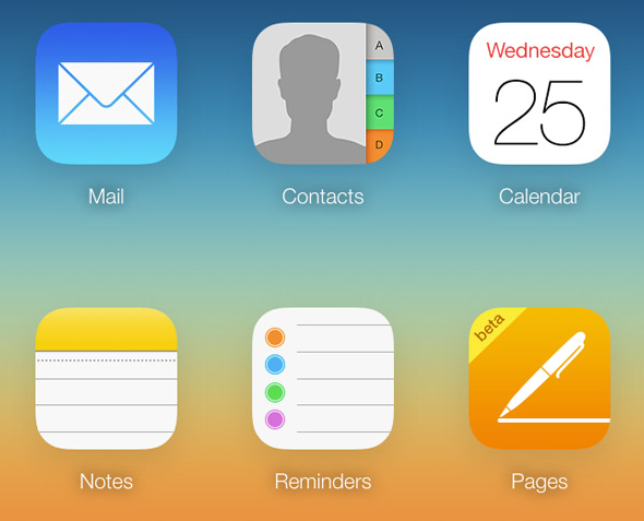 iCloud-Contacts