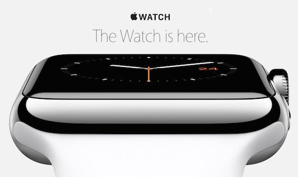 Apple Watch here
