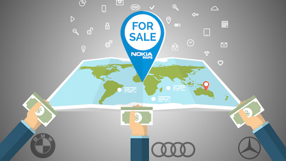 nokia-corporation-sell-here-maps-to-german-automakers