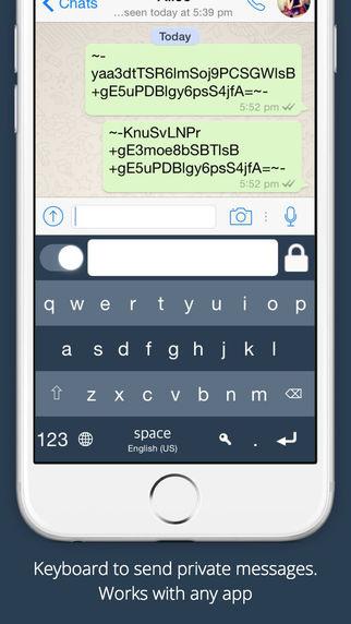 secure-text-keyborad