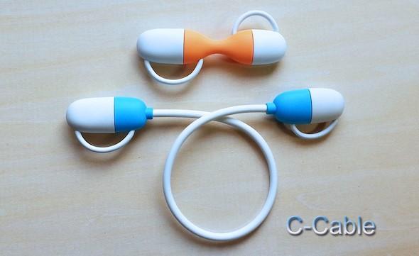 احصل على كابل متعدد المهام مع C-Cable