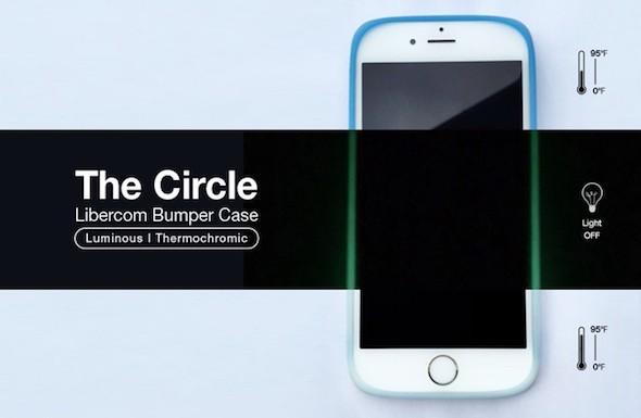 ملحق The Circle غلاف تقليدي مختلف