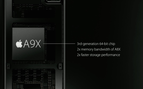 iPad A9X processor