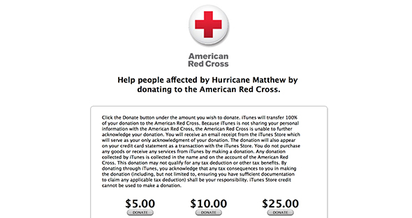 apple-collecting-hurricane-donations