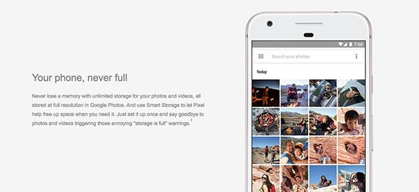 google-pixel-xl-unlimited-storage