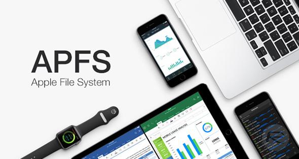 نظام APFS الجديد لإدارة ملفات أجهزة آبل