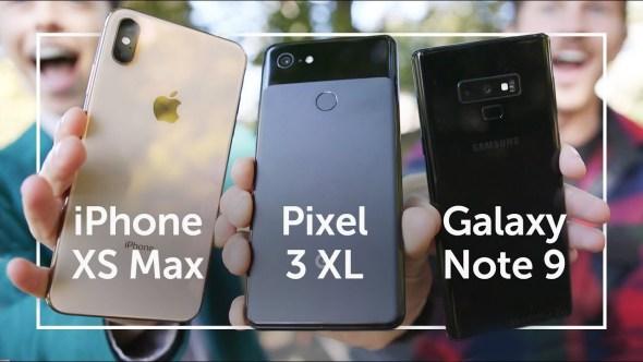 الكاميرا في الهواتف الذكية