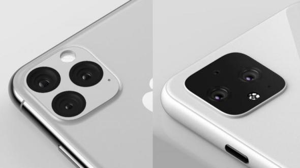 مقارنة بين كاميرا بيكسل 4 وكاميرا آي-فون 11 برو